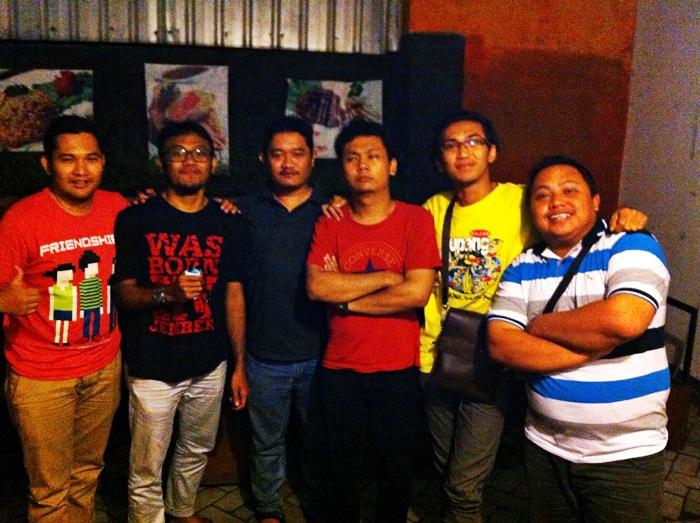David, Pandu, Saya, Real, Ade, Fajar